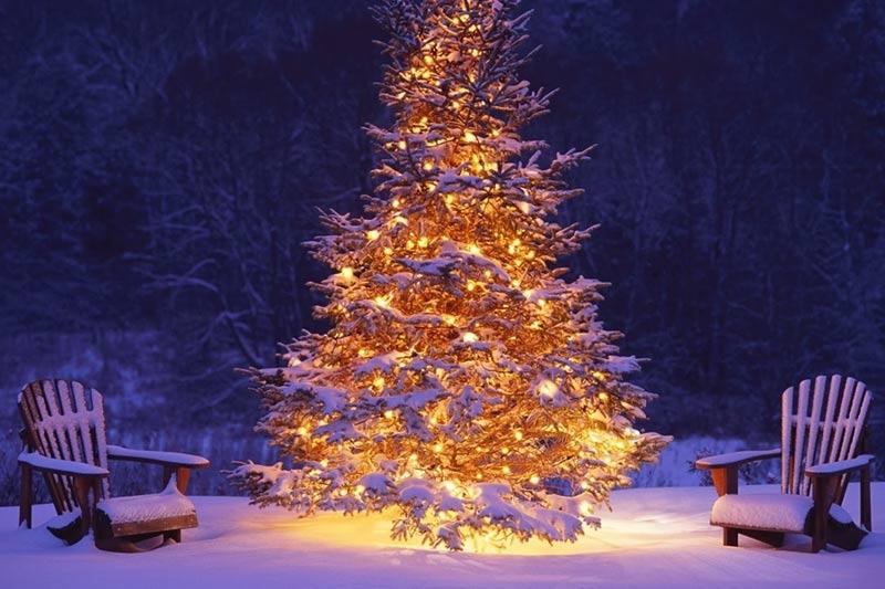 Imagen Árbol de Navidad Brillante