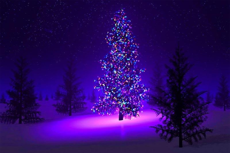 Im genes de navidad rbol navidad adornado - Arboles de navidad de chuches ...