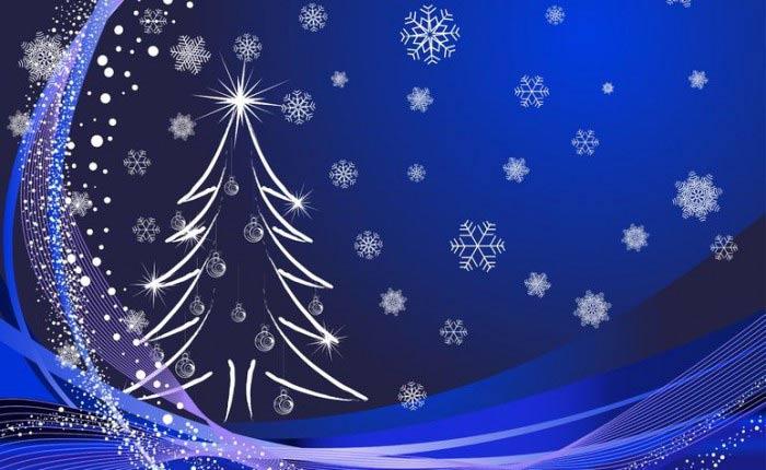 Imagen árbol Navideño para felicitar un feliz Navidad a los ...