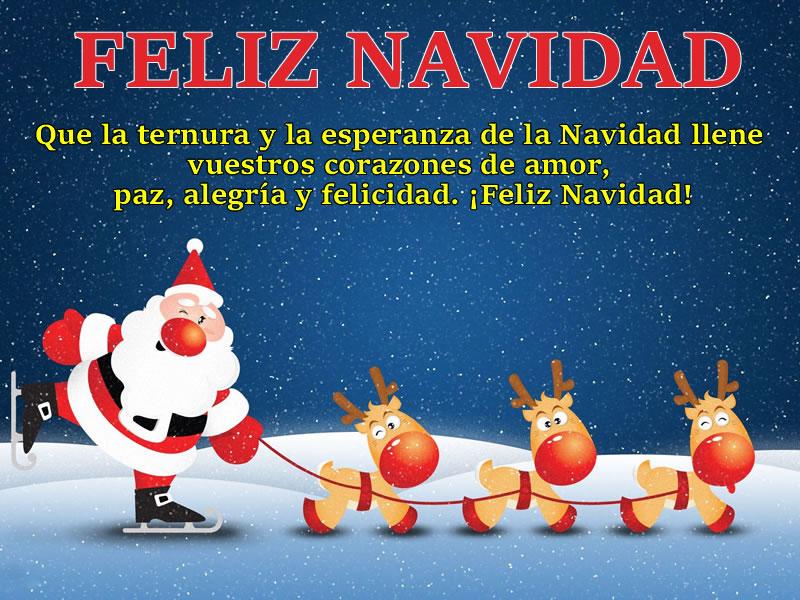 Imágenes De Navidad Feliz Navidad Con Frases
