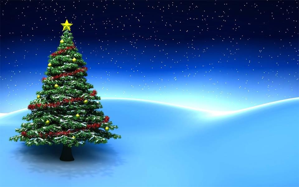 fondos rbol de navidad