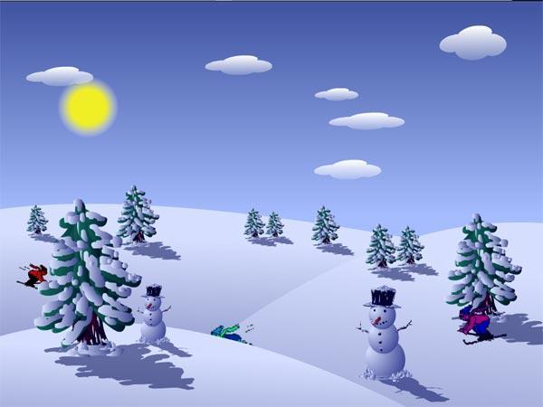Imagenes Navidad: Muñeco de nieve