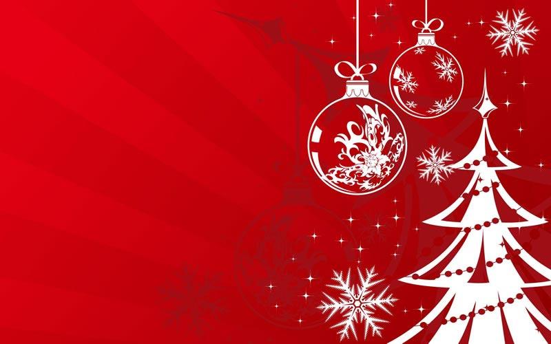 Imágenes Navideñas: Arboles y Bolas de Navidad