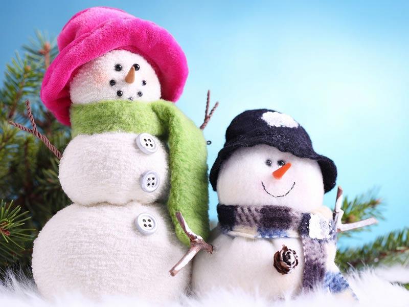 Imágenes Navideñas: Muñecos de nieve