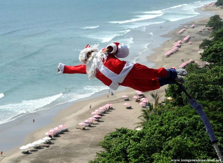 Imágenes Papá Noel: Lanzamiento de Papá Noel