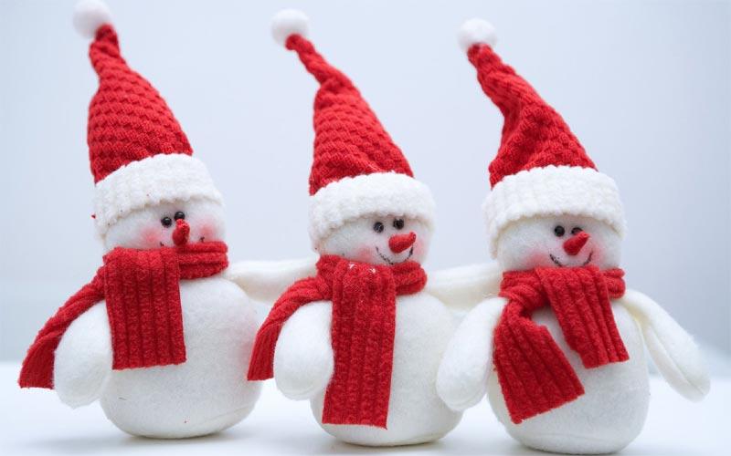 Im genes de navidad mu ecos de nieve for Figuras de nieve navidenas