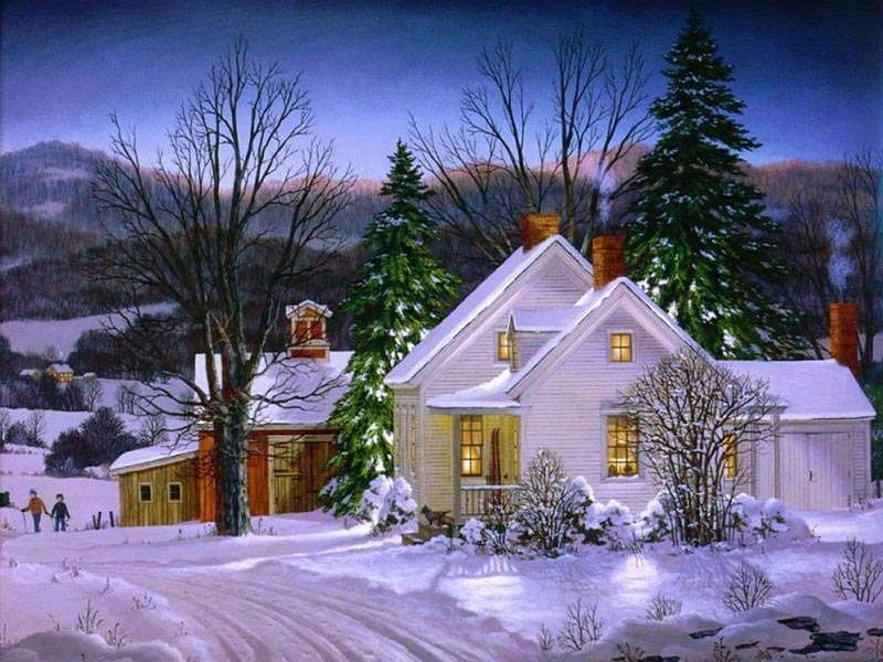 Navidad Imágenes: Paisaje de Navidad